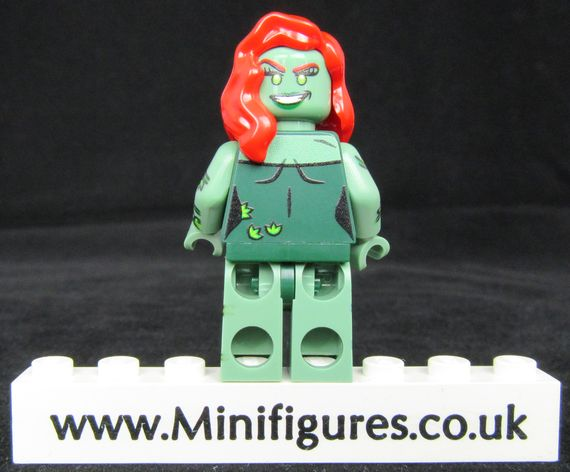 Green Poison Ivy Onlinesailin Custom Minifigure Back