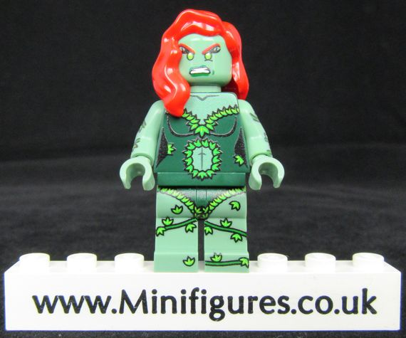 Green Poison Ivy Onlinesailin Custom Minifigure