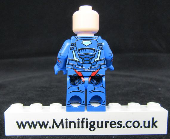 Luther Superman LeYiLeBrick Custom Minifigure
