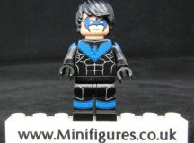 Nightwing LeYiLeBrick Custom Minifigure