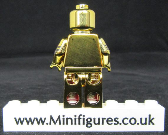 Ultron Gold LeYiLeBrick Custom Minifigure Back