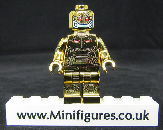 Ultron Gold LeYiLeBrick Custom Minifigure