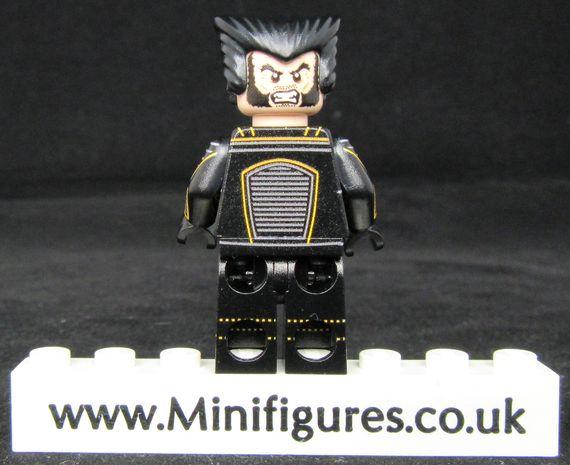 Wolverine The Last Stand LeYiLeBrick Custom Minifigure Back