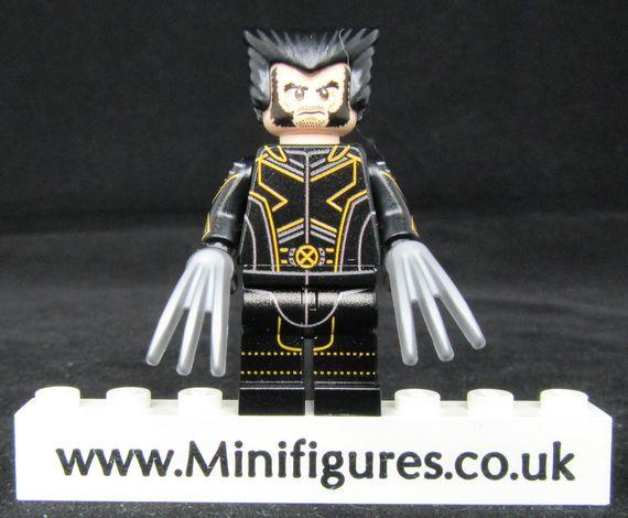 Wolverine The Last Stand LeYiLeBrick Custom Minifigure
