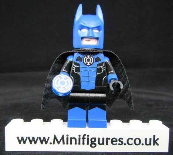 Batman Blue Lantern LeYiLeBrick Custom Minifigure