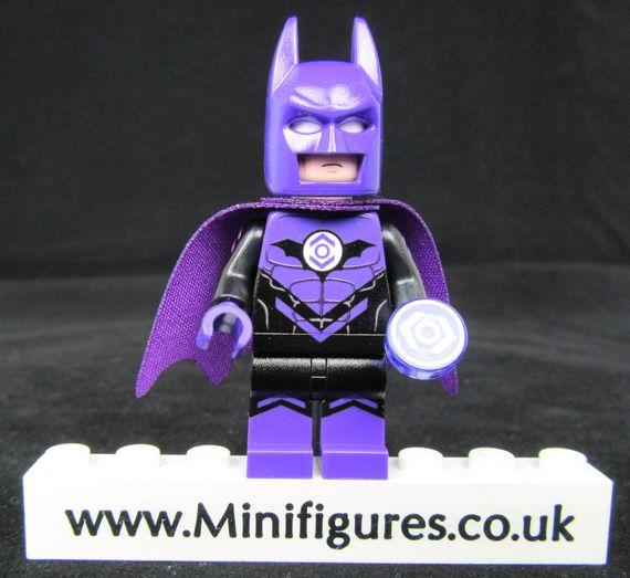 Batman Indigo Lantern LeYiLeBrick Custom Minifigure