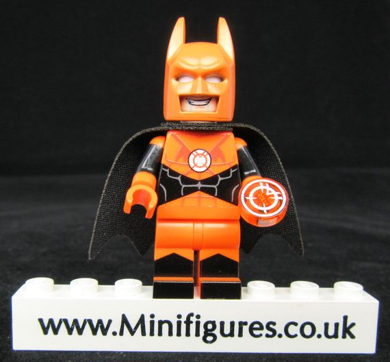 Batman Orange Lantern LeYiLeBrick Custom Minifigure