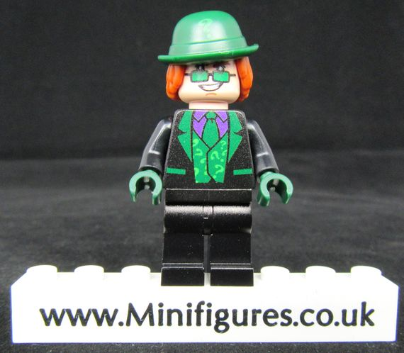 Black Riddler Onlinesailin Custom Minifigure