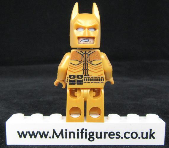 Gold Dark Knight Onlinesailin Custom Minifigure Back