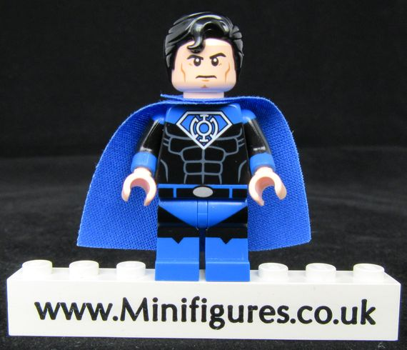 Superman Blue Lantern LeYiLeBrick Custom Minifigure