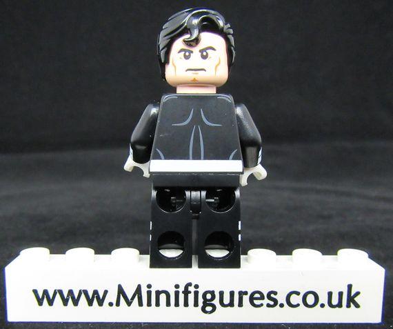 Superman Earth 50 LeYiLeBrick Custom Minifigure Back
