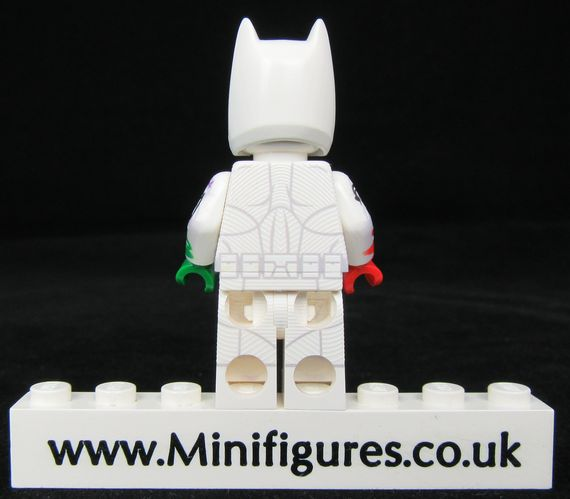 The Joker's Wild Batman LeYiLeBrick Custom Minifigure Back