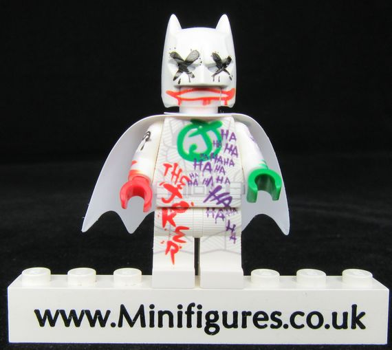 The Joker's Wild Batman LeYiLeBrick Custom Minifigure