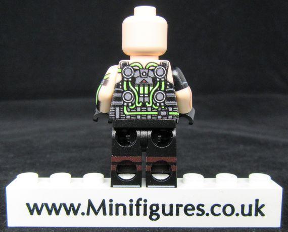 Bane LeYiLeBrick Custom Minifigure Back