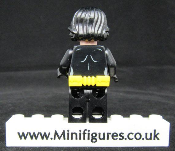 Bat Bricks The Bat Custom Minifigure Back