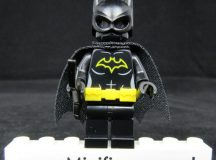 Bat Bricks The Silent Bat Custom Minifigure