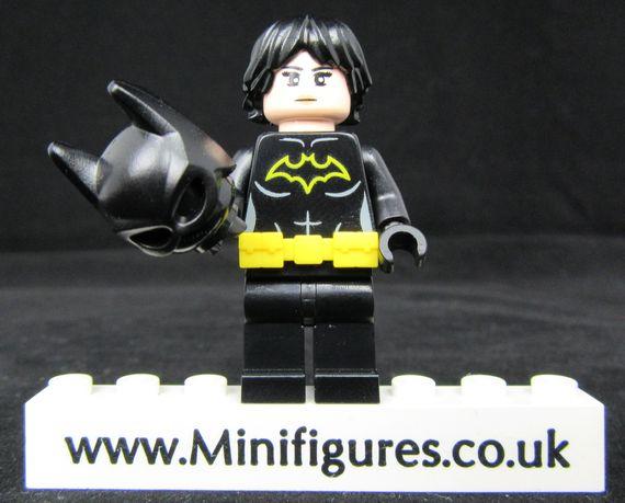 Bat Bricks The Silent Bat Custom Minifigure Alernative Head