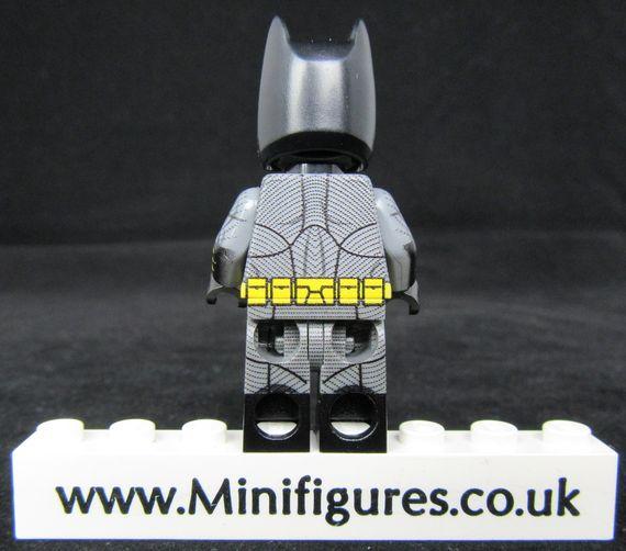 Batman BVS LeYiLeBrick Custom Minifigure Back