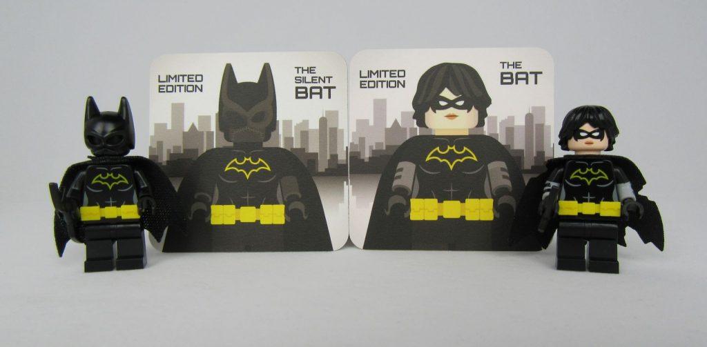 Bat Bricks The Silent Bat and The Bat Collectors Cards