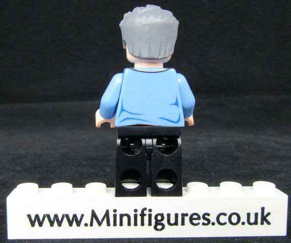 Logan Injured LeYiLeBrick Custom Minifigure Back