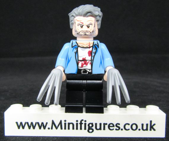 Logan Injured LeYiLeBrick Custom Minifigure
