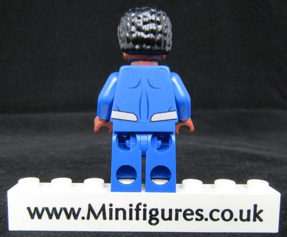 Superman Earth 2 LeYiLeBrick Custom Minifigure Back