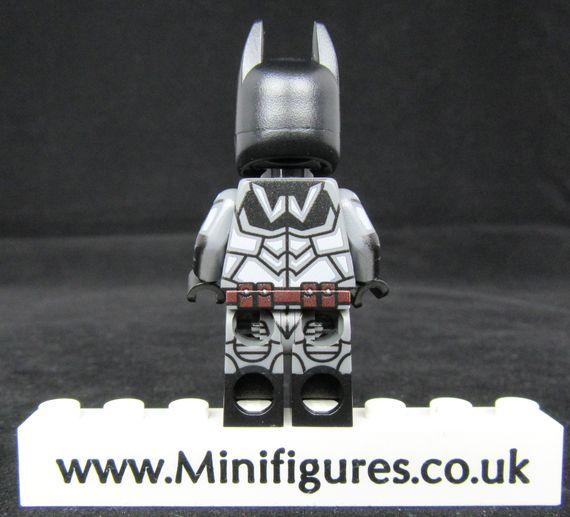 Batman Arkham Noel LeYiLeBrick Custom Minifigure Back