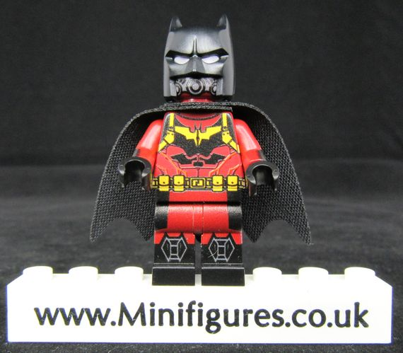 Batman Flame LeYiLeBrick Custom Minifigure