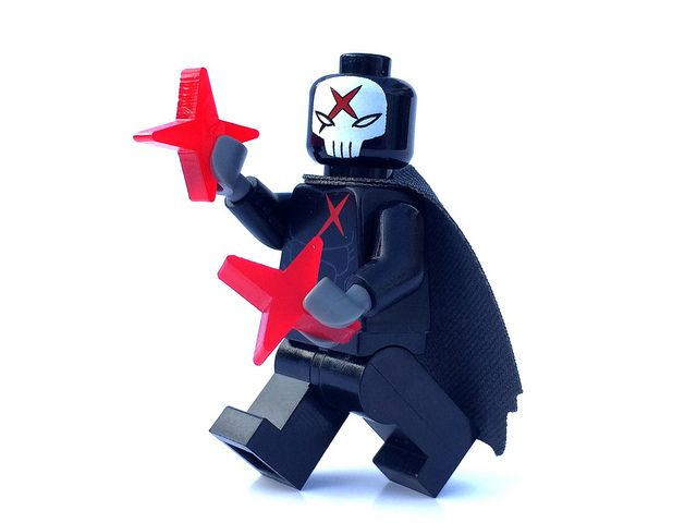 Crimson Cross KO Custom Minifigure
