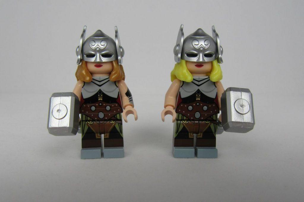 Lady Thunder BrothersFigure Custom Minifigure Alt Hair