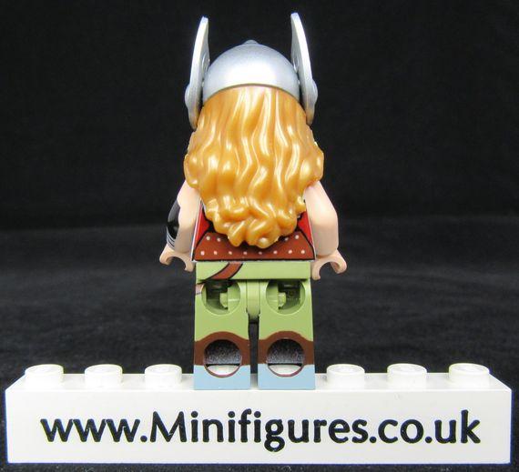 Lady Thunder BrothersFigure Custom Minifigure Back