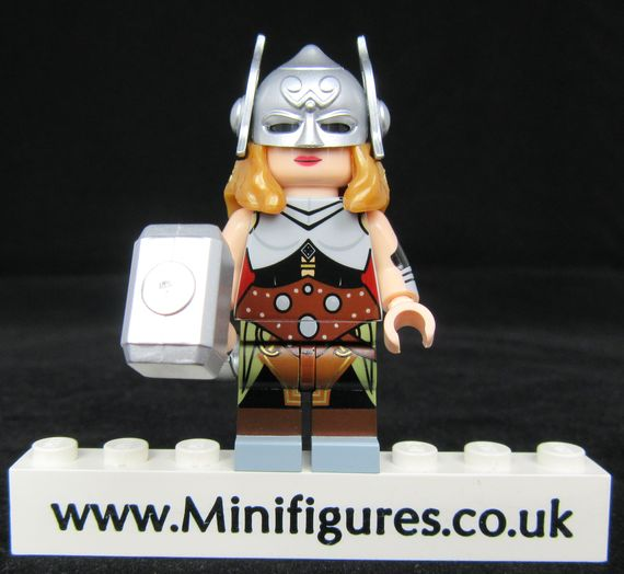 Lady Thunder BrothersFigure Custom Minifigure
