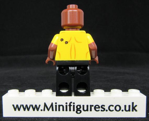 Luke Cage LeYiLeBrick Custom Minifigure Back
