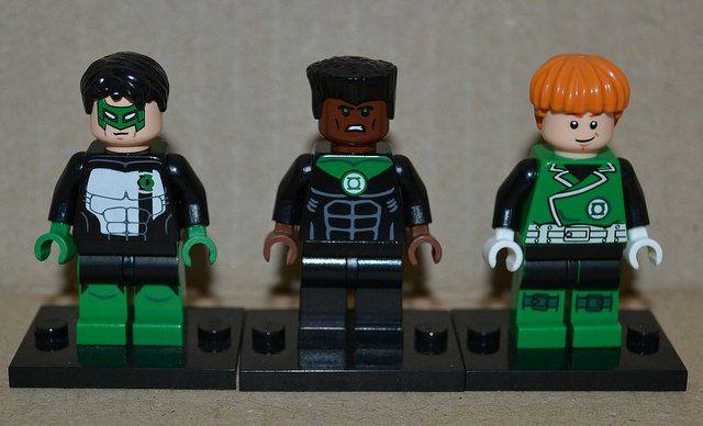 SFXminifigures Green Lanterns