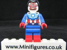 Sam Wilson LeYiLeBrick Custom Minifigure