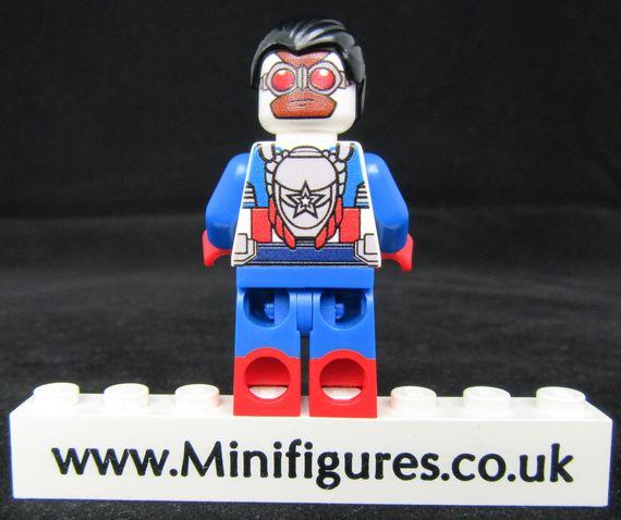 Sam Wilson LeYiLeBrick Custom Minifigure Back