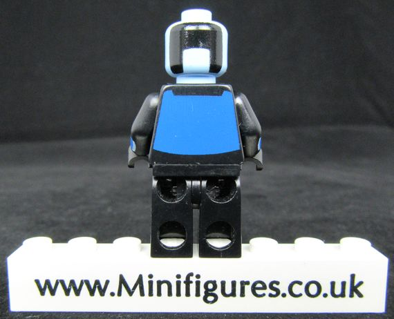 Mr Freeze MRM Custom Minifigure Back