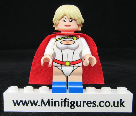 Power Girl LeYiLeBrick Custom Minifigure