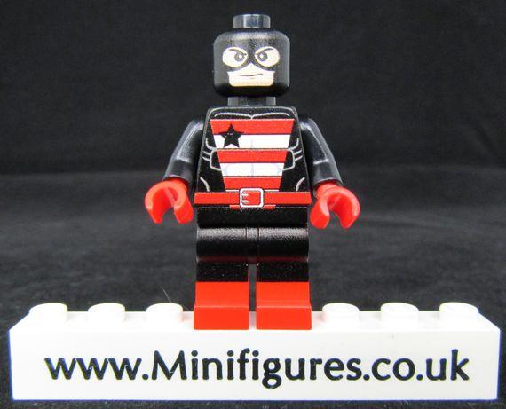 US Agent LeYiLeBrick Custom Minifigure