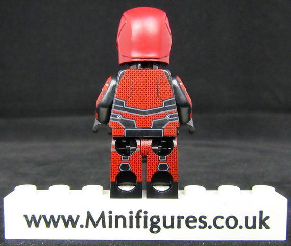 Daredevil UG Custom Minifigure Back