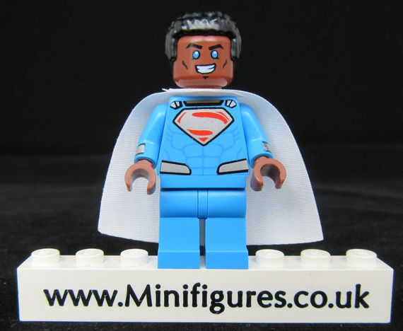 Speeding Blue Bullet CyclopsBricks Custom Minifigure