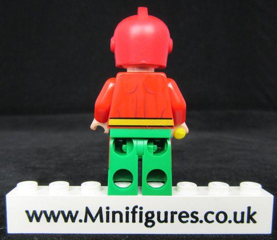 Starman Funny Brick Custom Minifigure Back