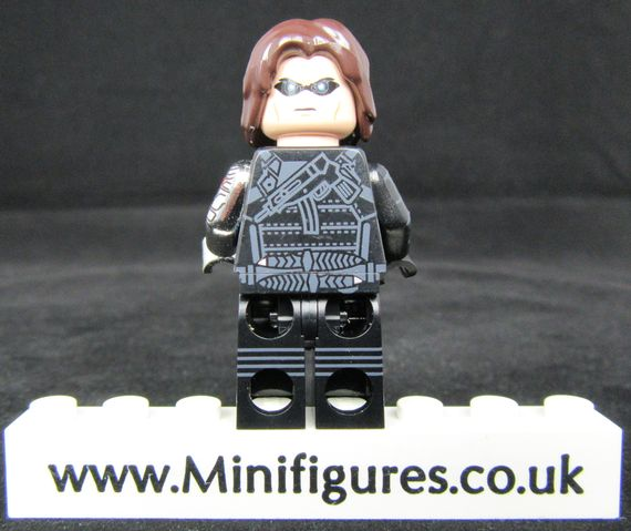 Winter Soldier UG Custom Minifigure Back