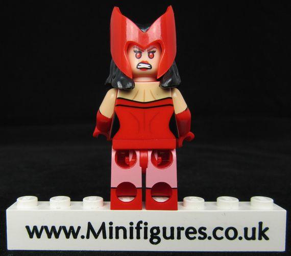 Crimson Sorceress Custom Minifigure Back