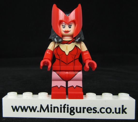 Crimson Sorceress Custom Minifigure