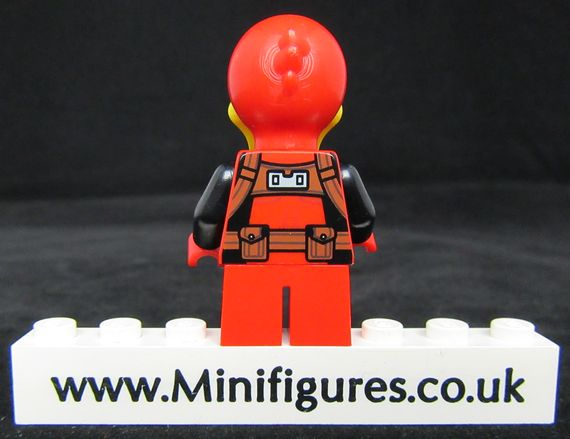 Deadpool Duck LeYiLeBrick Custom Minifigure Back