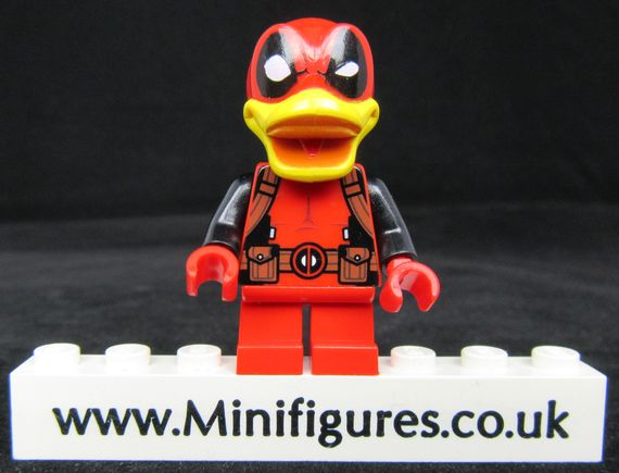Deadpool Duck LeYiLeBrick Custom Minifigure