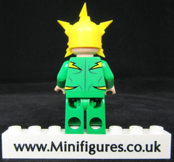 Electro Funny Brick Custom Minfigure Back