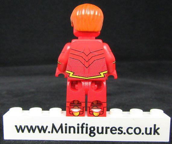 Flash 3000 LeYiLeBrick Custom Minifigure Back
