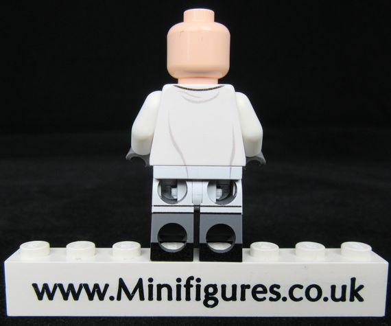 Hugo Strange LeYiLeBrick Custom Minifigure Back